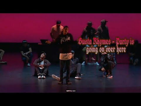 Download [ Les Twins ] Larry - ▶ Busta Rhymes - Party Is Going On Over Here ⏹