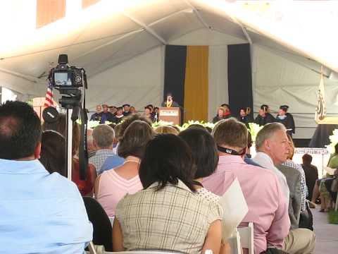 Harvey Mudd College - Senior Commencement Speech 2009