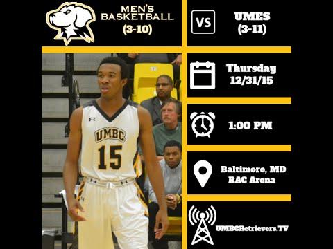 huge selection of dc773 cf3c3 UMBC Men's Basketball vs UMES Highlights 12/31/15 - UMBC