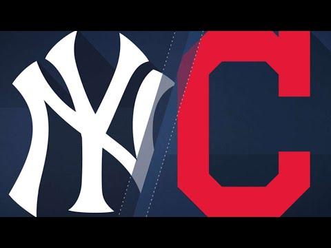 Gregorius, Romine lift Yankees over Indians: 7/14/18