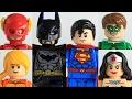 Lego Justice League Moc Pt 1: Custom minfigure showcase.