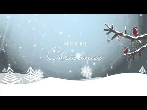 Merry Christmas Background HD - YouTube