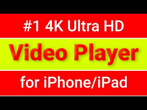 Best 4K Video Player iPhone & iPad | FREE Apple TV Cast | Play All