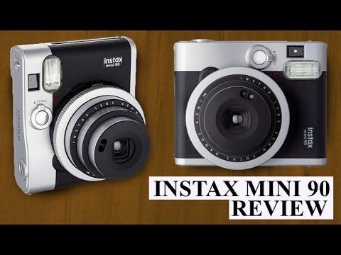 Fujifilm Instax Mini 90 Neo Classic Instant Polaroid Camera Review