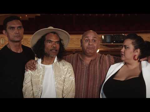 Matesong Behind-the-Scenes With Aboriginal Comedy AllStars