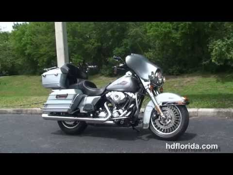 Used 2010 Harley Davidson Electra Glide Classic Motorcycles for sale - Tarpon, FL