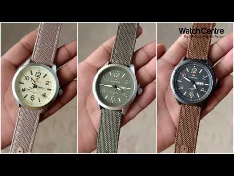 NaviForce 9101M Black Nylon Strap Analog Wrist Watch Review