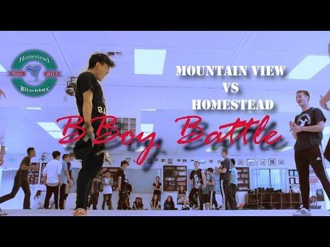 Mountain view vs Homestead bboy battle