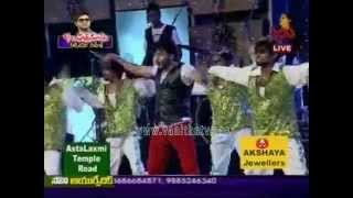 """""""One & Two & Three"""" Song Performance at S/O Satyamurthy Audio Launch"""