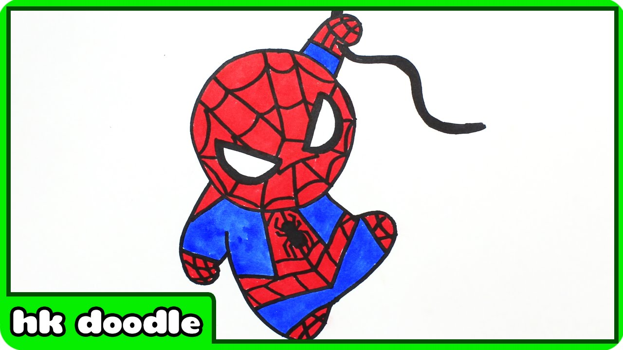 Spiderman Drawings Easy