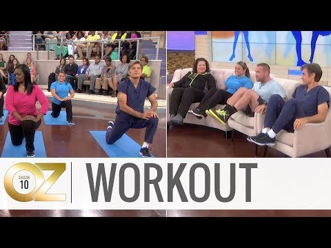 5-Minute Easy Workout: Stretching, Cardio and Couch Exercises
