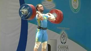 Уланов Денис (Казахстан) -  толчок  216.