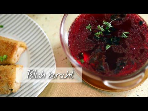 Polish borscht - Vegetarian borscht recipe video