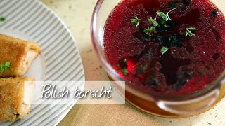 Polish Borscht - Vegetarian Borscht Recipe Video