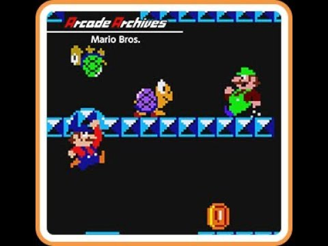 Mario Bros. - Arcade Archive Switch | VGHI Play 'n' Chat Live Stream