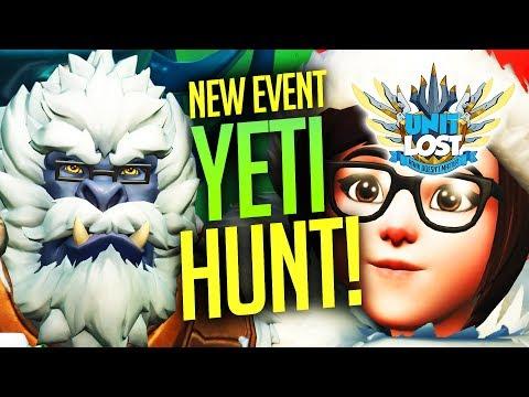 Overwatch - MEI'S YETI HUNT! BOSS MODE!! Return to Winter Wonderland!