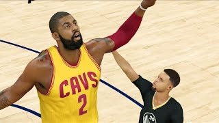 tiny golden state warriors vs giant cleveland cavaliers   nba 2k17 challenge