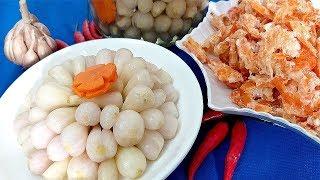 Cách làm Dưa Kiệu Củ Cải chua ngọt ngon giòn giòn đón tết 2019 by Xanh TV