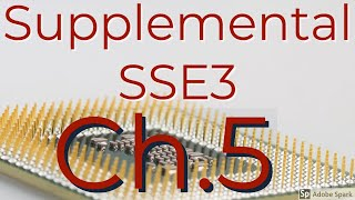 Intel Instructions 56 Supplemental SSE3 (SSSE3)