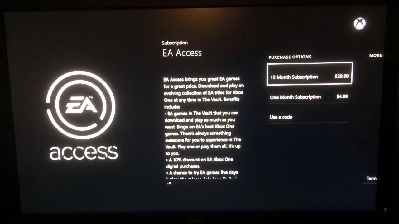 EA Access Purchase Options a Joke - YouTube