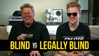 What Are The Differences Between Being Blind & Legally Blind?