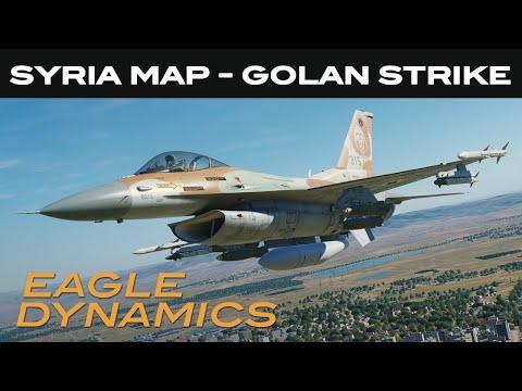 DCS: Syria Map - Golan Strike