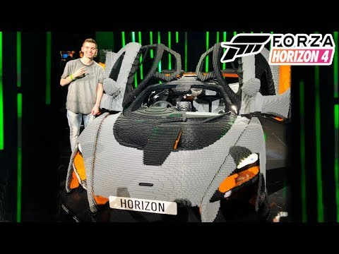 CARRO do FORZA HORIZON 4 LEGO na VIDA REAL!!!! E3 2019