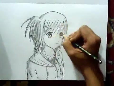 How To Drawing Manga Face