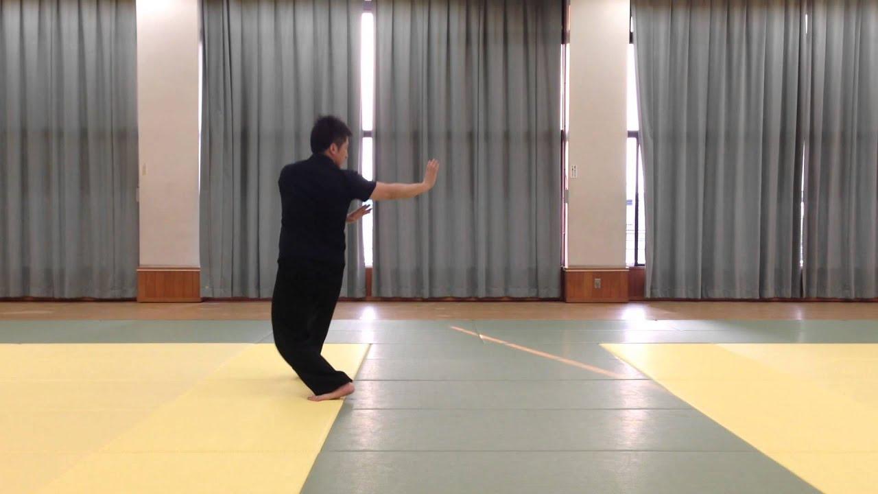 游身八卦連環掌 八大掌1(単換掌)Bagua zhang 1 - YouTube