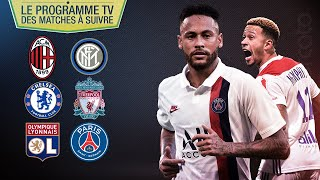 CHELSEA - LIVERPOOL, LYON - PSG... le programme foot du week-end !