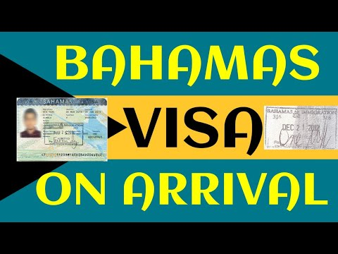 Bahamas Visa On Arrival Immigration Indian Passport Holder.