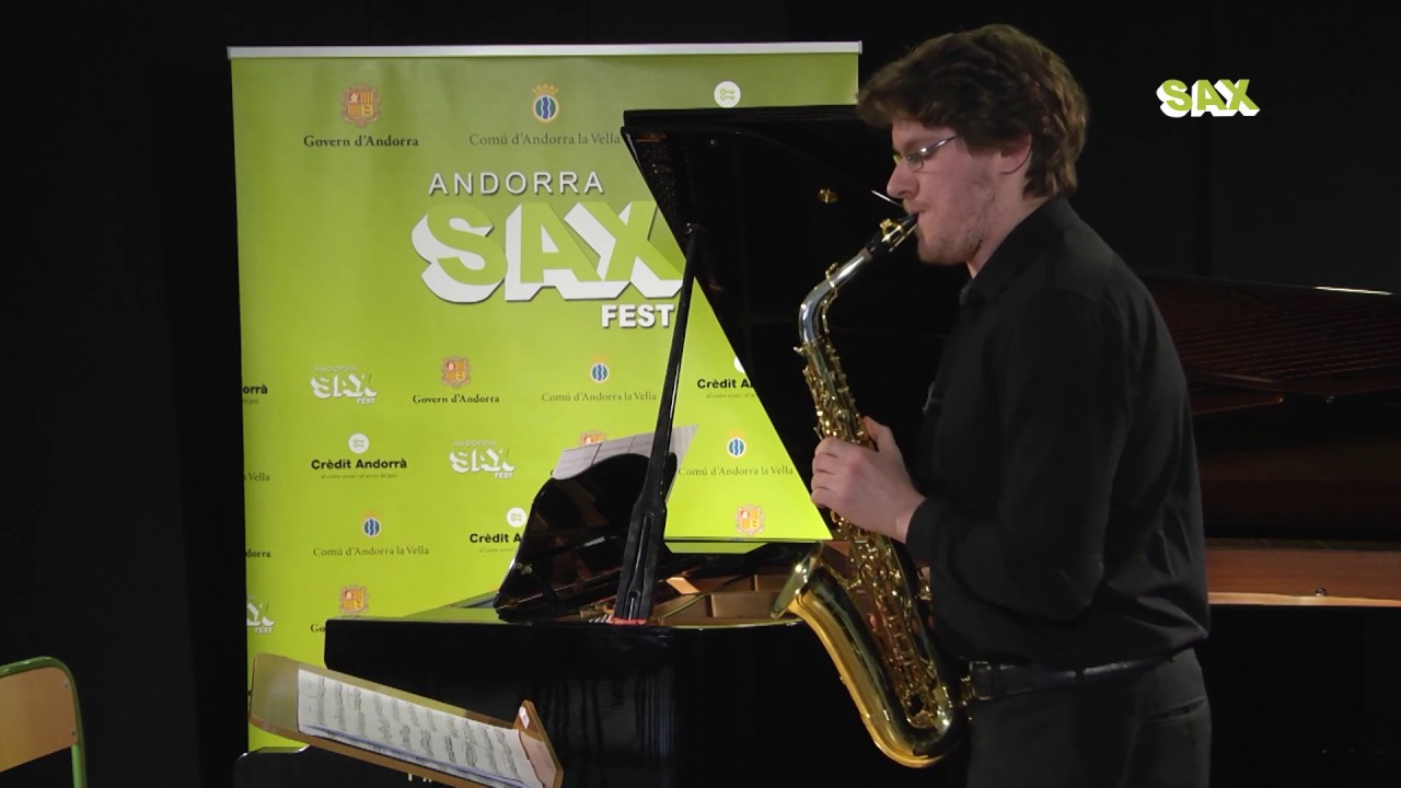 FRANCESCO RONZIO - 1st ROUND - V ANDORRA INTERNATIONAL SAXOPHONE COMPETITION 2018