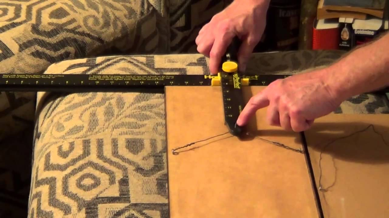 How To Hang Pictures On A Wall Best Way To Hang Pictures Picture Hanging Tool Youtube