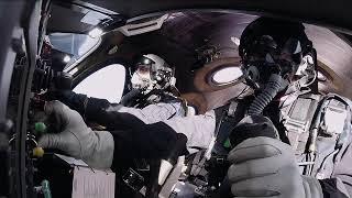 Virgin Galactic : Troisième vol du VSS Unity moteur allumé (52 km d'altitude)