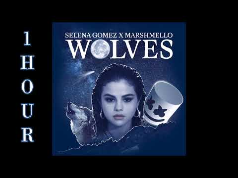 [HD] Selena Gomez ft. Marshmello - Wolves (1 Hour Version)