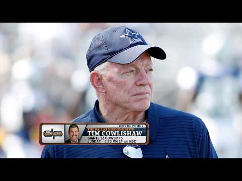 Tim Cowlishaw: Why Jerry Jones Won't Give Up His Cowboys GM Duties | The Dan Patrick Show | 9/12/18