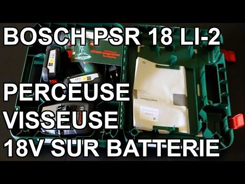 - 0 - Avis sur la perceuse visseuse Bosch PSR 18 LI-2