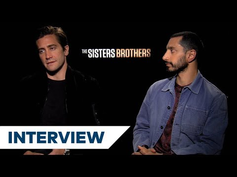 Jake Gyllenhaal & Riz Ahmed On Preparing For Their Roles In The Sisters Brothers  TIFF 2018