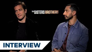Jake Gyllenhaal & Riz Ahmed On Preparing For Their Roles In The Sisters Brothers | TIFF 2018