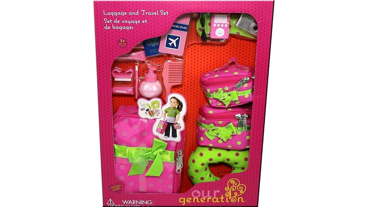 Travel Set Accessory 18 Inch Doll