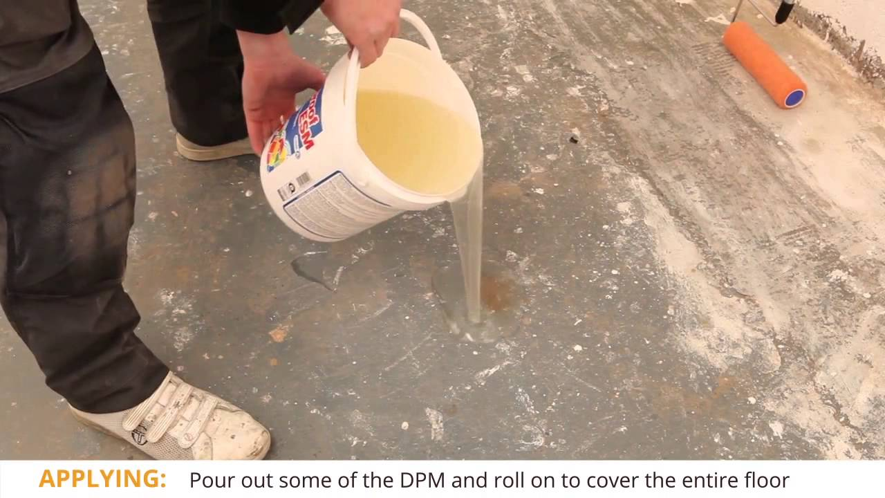How To Lay A Liquid Based Damp Proof Membrane