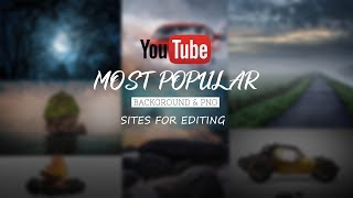 Best background images & png download sites for editing
