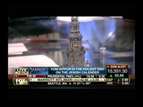Jonathan Greenstein, Judaica Expert on Fox Business News with Stuart Varney