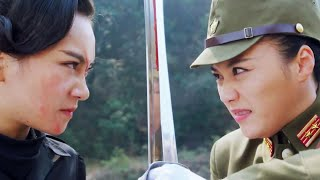 Final battle! Chinese Black Widow VS Japanese Female Commander!