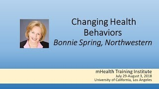 Mhti 2018: changing health behaviors