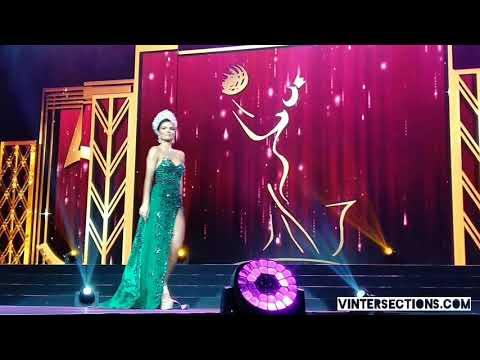 Final Walk of Miss Brazil Francielly Ouriques | Miss Asia Pacific International 2018