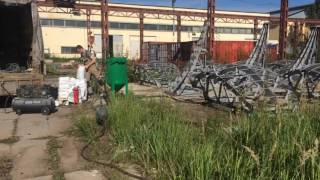 видео Аренда компрессора для пескоструйных работ