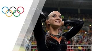 Wevers wins balance beam gold for the Netherlands
