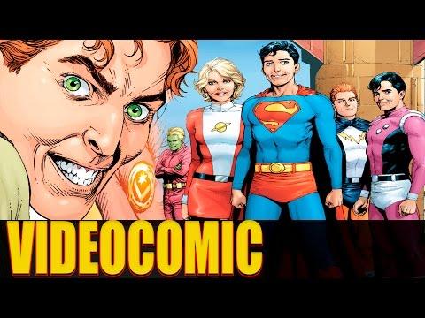 VIDEOCOMIC: SUPERBOY Y LA LEGIÓN DE SUPERHÉROES    SUPERMAN ORIGEN SECRETO Parte 2