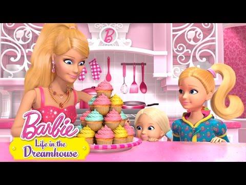 Barbie baker kake